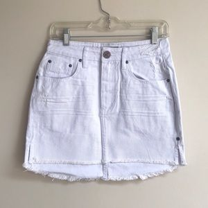 NWT One Teaspoon High Waist 2020 Mini Denim Skirt
